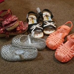 Other - Toddler girl size 8 sandal lot